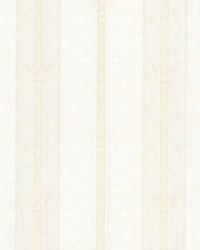 Tybalt Cream Damask Stripe by