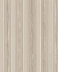 Tiberio Light Brown Silk Stripe by