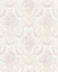 Phebe Lavender Floral Urn by