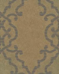 Bernaud Copper Persian Diamond Wallpaper by