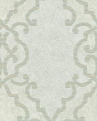 Bernaud Blue Persian Diamond Wallpaper by