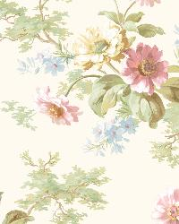 Julie Rose Floral Boquet Wallpaper by