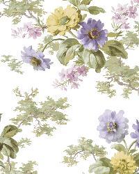Julie White Floral Bouquet Wallpaper by