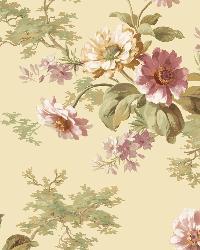Julie Sand Floral Bouquet Wallpaper by