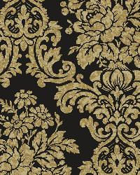 Illume Black Damask Wallpaper by
