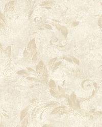 Edith Brown Acanthus Brushstroke Wallpaper by