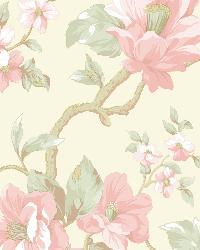 Berkin Olive Large Floral Vine Wallpaper by