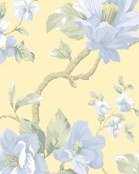 Berkin Butter Large Floral Vine Wallpaper by