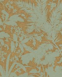 Fauna Brown Silhouette Leaves Wallpaper by