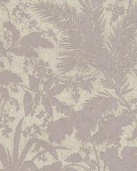 Fauna Purple Silhouette Leaves Wallpaper by