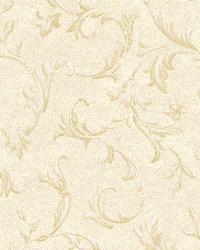 Vlad Cream Acanthus Vine Wallpaper by