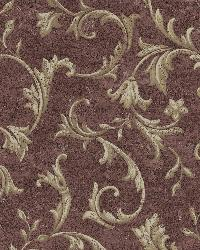 Vlad Purple Acanthus Vine Wallpaper by