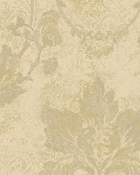 Irena Gold Delicate Damask Wallpaper by