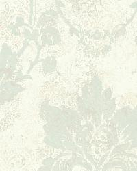 Irena White Delicate Damask Wallpaper by