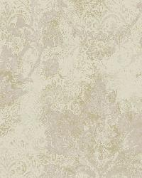 Irena Grey Delicate Damask Wallpaper by