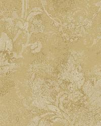 Irena Bronze Delicate Damask Wallpaper by