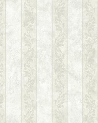Evelin Cream Ornate Stripe by