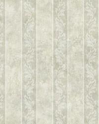 Evelin Grey Ornate Stripe by
