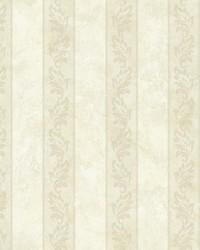 Evelin Beige Ornate Stripe by