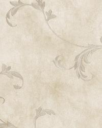 Gracie Stone Scroll Wallpaper by