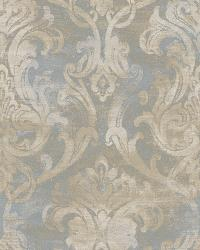Elsa Ale Ornate Damask Wallpaper by