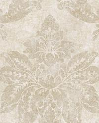 Giles Stone Patina Damask Wallpaper by