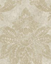 Giles Plaster Patina Damask Wallpaper by