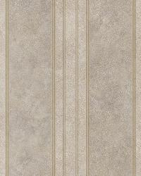 Giovanni Bronze Tuscan Alternating Stripe Wallpaper by