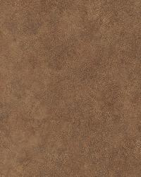 Julian Sienna Faux Leather Wallpaper by