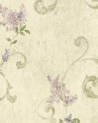 Neutral Lilac Acanthus by