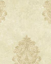 Neutral Baroque Damask by