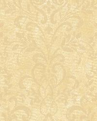 Yellow Country Damask by