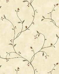 Gemma Wheat Tin Star Trail Wallpaper by  Brewster Wallcovering