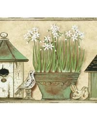 Elvin Wheat Sweet Home Portrait Border by