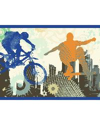 Shawn Grey Extreme Silhouettes Border by
