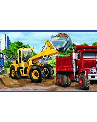 Elbow Grease Red Heavy Machinery Portrait Border by