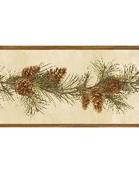 Fleming Sand Pine Boughs Trail Border by