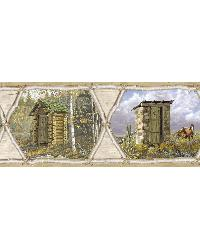 Augustus Brown Privy Collection Portrait Border by
