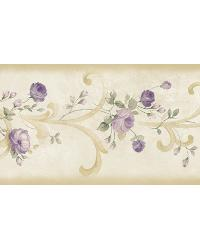 Betty Cream Tearose Acanthus Trail Border by
