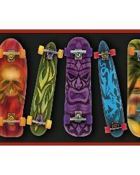 Gerry Red Skateboards Portrait Border by