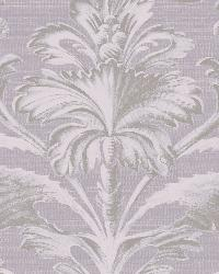 Tangler Purple Brilliant Damask Wallpaper by