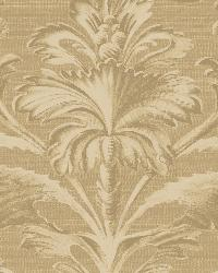 Tangler Brown Brilliant Damask Wallpaper by