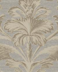 Tangler Charcoal Brilliant Damask Wallpaper by