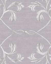 April Purple Acanthus Lattice Wallpaper by