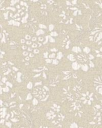 Stria Purple Floral Toss Wallpaper by