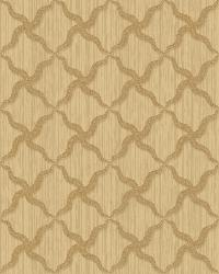 Alexi Gold Ornate Criss Cross Wallpaper by