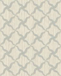 Alexi Blue Ornate Criss Cross Wallpaper by