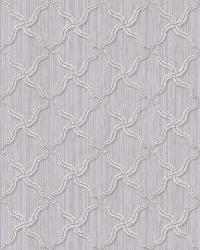 Alexi Violet Ornate Criss Cross Wallpaper by
