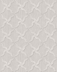 Alexi Grey Ornate Criss Cross Wallpaper by