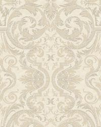 Guinevere Winter Baroque Marquetry Wallpaper by
